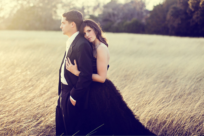 A Rustic Glam Engagement
