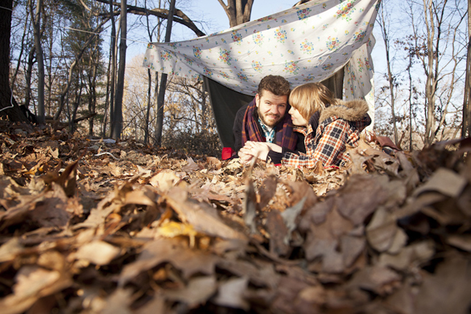 An Autumn Camping Engagement Glamour Amp Grace