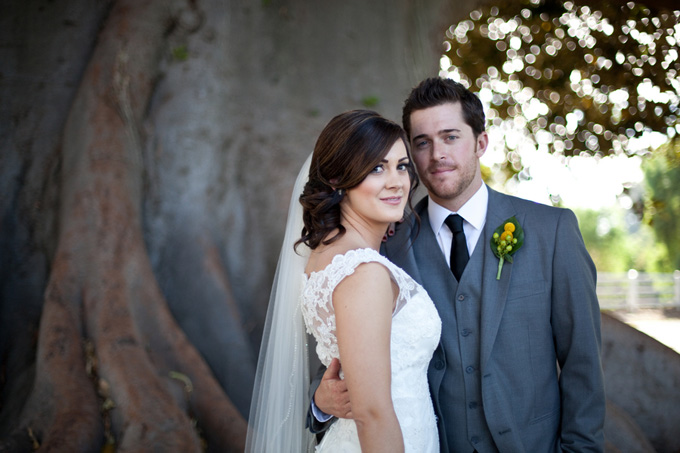 Yellow and Gray DIY Wedding