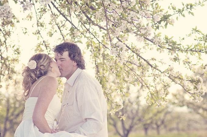Photo Fridays Romantic Apple Orchard Engagement