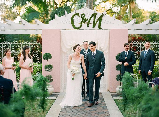 intimate pink and gray wedding | Justin DeMutiis Photography