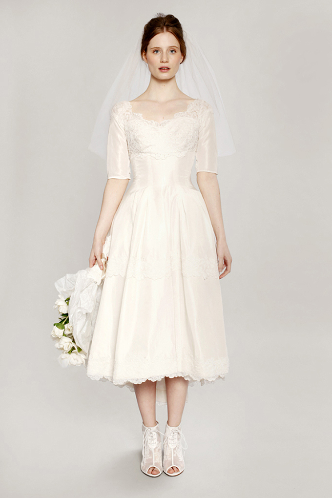 1950 S Vintage Wedding Dresses Glamour Amp Grace
