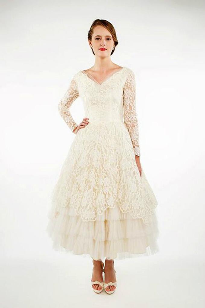 1950's Vintage Wedding Dresses | Glamour & Grace